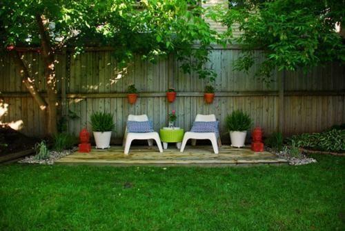 Como hacer un oasis de jardin