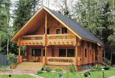 Las casas de madera y su resistencia al fuego - Casas de madera pequenas y baratas ...