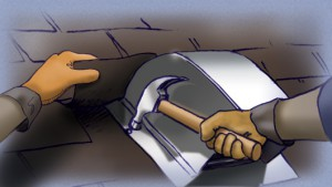 Cómo reparar un techo de tejas