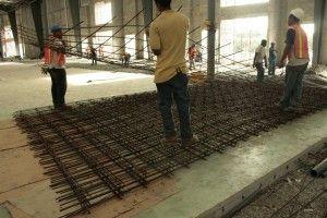 Como colar una losa de concreto