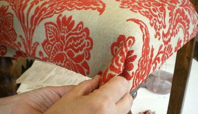 Como tapizar sillas y mesas
