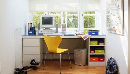 Construir una oficina en casa - Muebles de oficina para casa ...