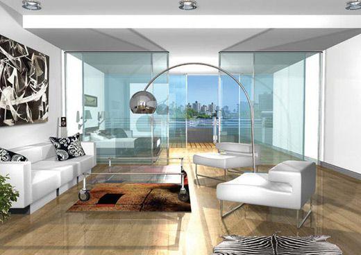 Estilo contemporaneo modernista for Apartamentos interiores contemporaneos