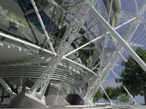 Estudios del acero en la arquitectura