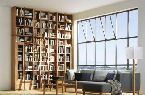 Resultado de imagen para librero casa