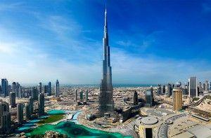 La torre mas alta del mundo en Dubai Burj Khalifa