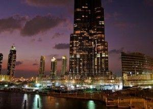 La torre mas alta del mundo en Dubai Burj Khalifa2