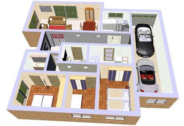Modelos y planos de casas de lujo for Planos de casas para construir de una planta