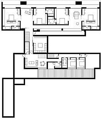 Plano de casa de 2 pisos - Planos de viviendas unifamiliares ...