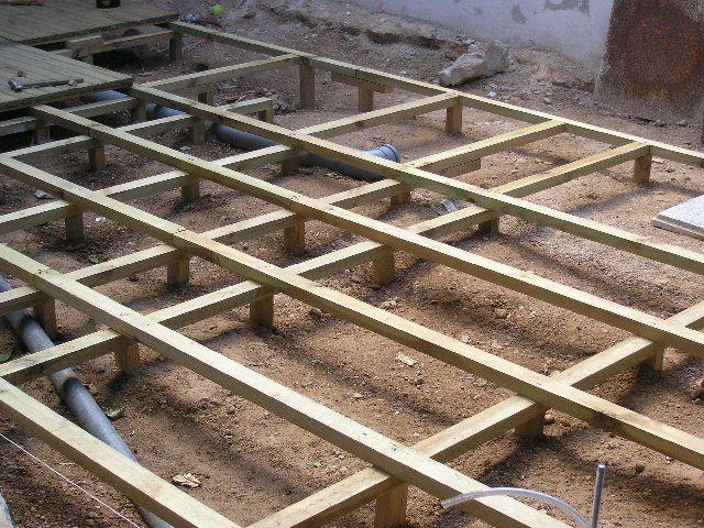 Rastreles de madera
