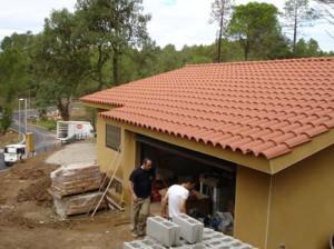 Reparación de techos de teja