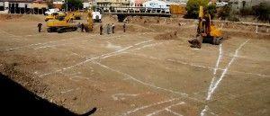 Trazos y excavaciones