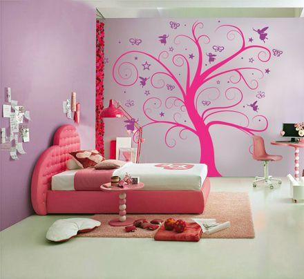 Vinilos decorativos para tu habitaciones for Habitaciones decoradas para jovenes