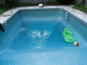 llenado de una piscina