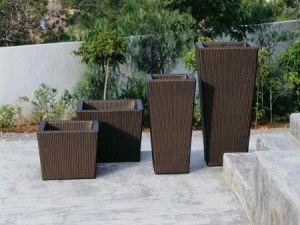 macetas para jardin moderno