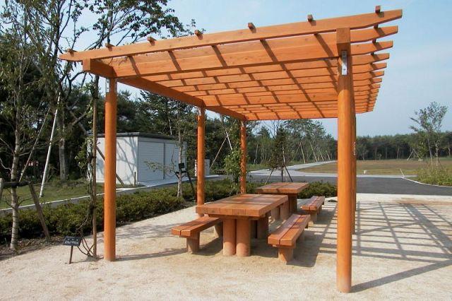 Instalar una pergola for Estructuras de jardin
