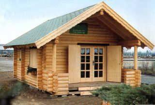 Casas de madera prefabricadas - Materiales para casas prefabricadas ...