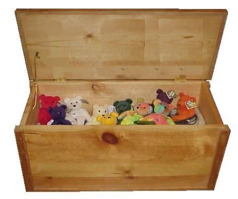 Como hacer una caja de juguetes - Como hacer un baul para guardar juguetes ...