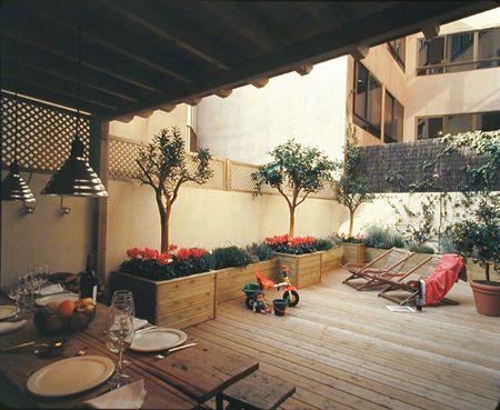 Dise o de terrazas y porches for Diseno de patios y terrazas
