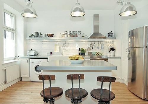 Como iluminar correctamente una cocina - Iluminacion en cocinas modernas ...