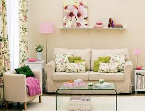 Decoracion de la salas de estar con espacios pequeños
