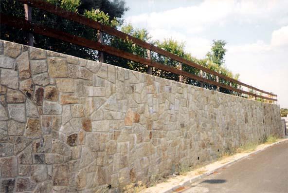 Muros exteriores for Piedra para muros interiores