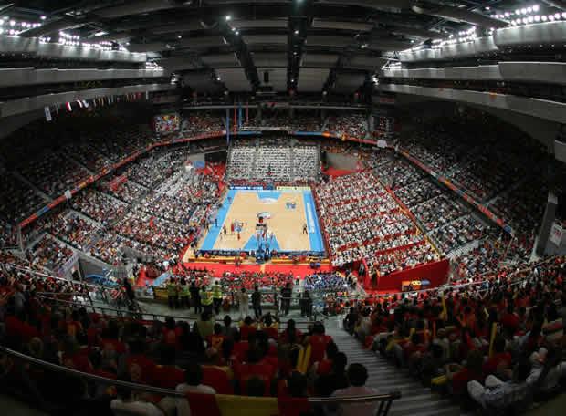 Palacio de los deportes de barcelona espa a - Pabellon de deportes madrid ...
