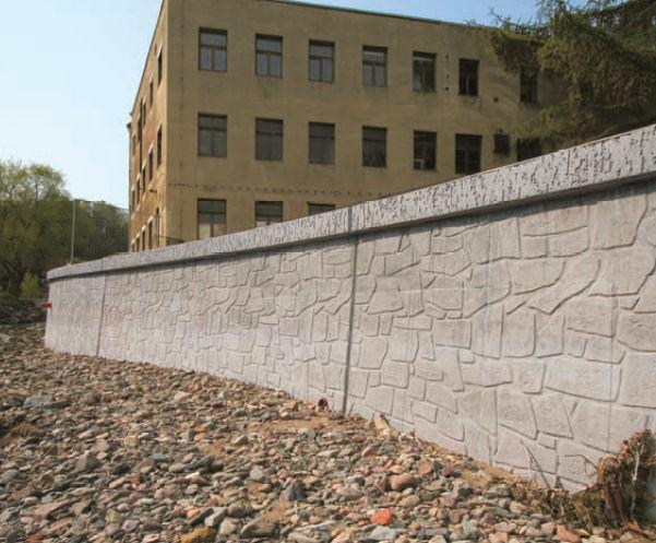 Uso de los muros de contencion