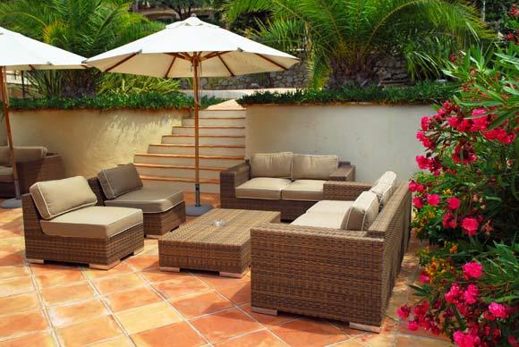 Muebles de patio