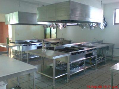 Cocinas industriales for Muebles para comedores industriales