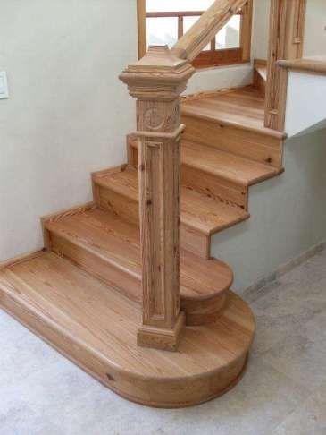 Como construir escaleras de madera - Escaleras con peldanos de madera ...