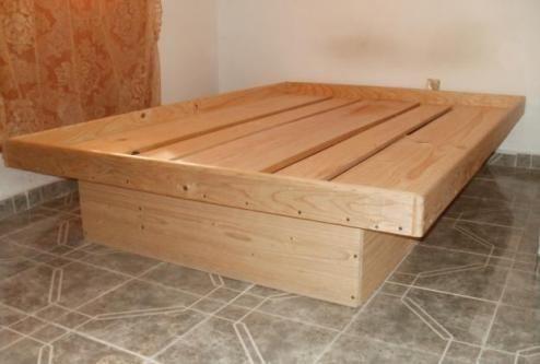 Como construir una cama de madera