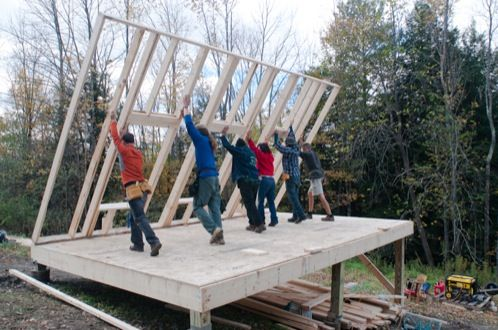Como construir una casa de madera - Como se construye una casa ...