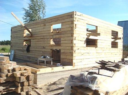 Como construir casa de madera