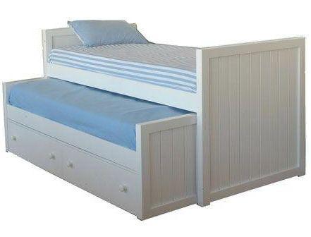 Como construir una cama nido - Camas infantiles blancas ...
