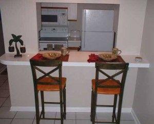 44.Barras y sillas para cocina