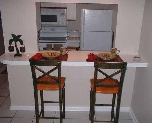 Barras y sillas para la cocina for Barras de cocina modernas