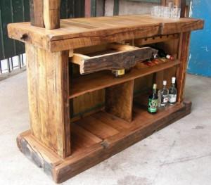 47.Mueblesd de bar rústicos