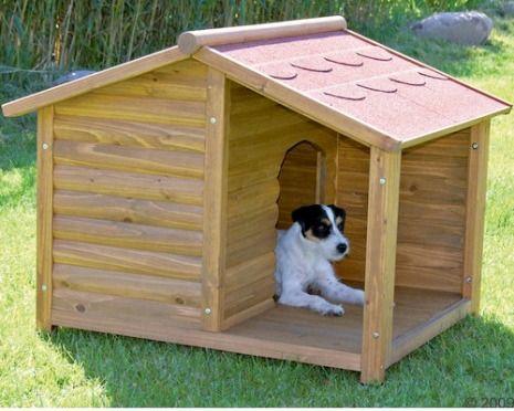 Como construir una casa para perros informaci n valiosa - Casa de perro con palets ...