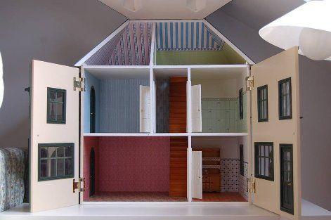 Como construir una casa de mu ecas - Casas miniaturas para construir ...