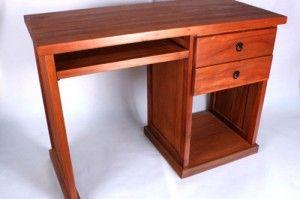 Como construir un escritorio de madera