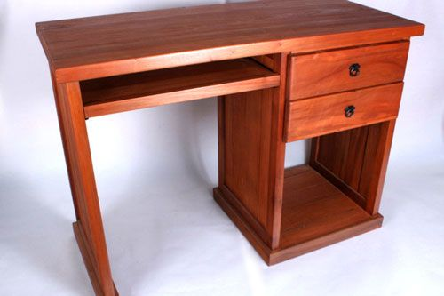 Como construir un escritorio de madera - Escritorios rusticos de madera ...