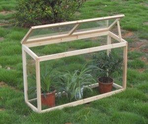 Como construir un invernadero de madera