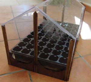 Como construir un mini invernadero