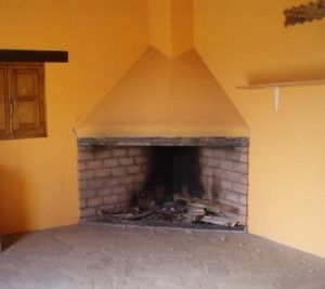 Como construir una chimenea de obra