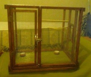 Como construir una jaula de periquitos