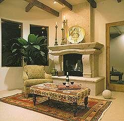 Como decorar una chimenea moderna material valioso - Chimeneas modernas decoracion ...