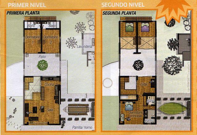 Arquitectura de planos de casas for Fotos de casas modernas y sus planos