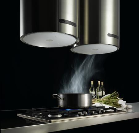Campanas extractoras para la cocina - Campana cocina isla ...