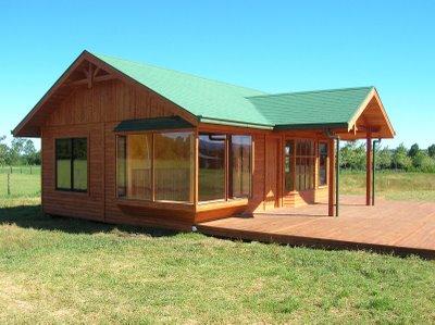 Casas caba as prefabricadas for Modelos de cabanas rusticas